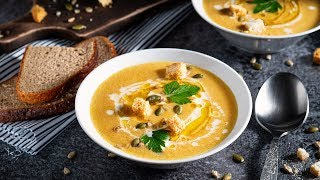 Тыквенный крем суп Домашний рецепт