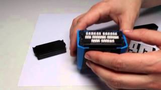 Trodat How to Set a DIY Stamp | Euroffice