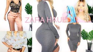 ZARA TRY ON HAUL | JANUARY 2018 | Renée Lee Rose