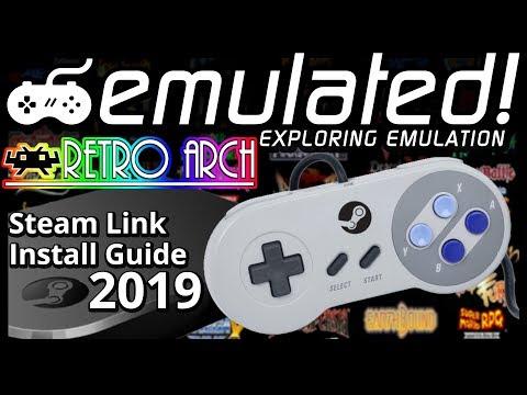 Native RetroArch Steam Link App Install Guide : emulation