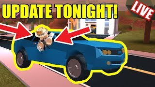 JAILBREAK UPDATE TONIGHT!!! | ASIMO3089 UPDATES | Roblox Jailbreak Live