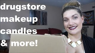 Drugstore Haul! Makeup, Candles & More!