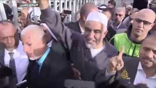ردود فلسطينية غاضبة على حظر الحركة الإسلامية