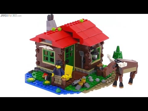 LEGO Creator Lakeside Lodge review (all 3 builds!) 31048