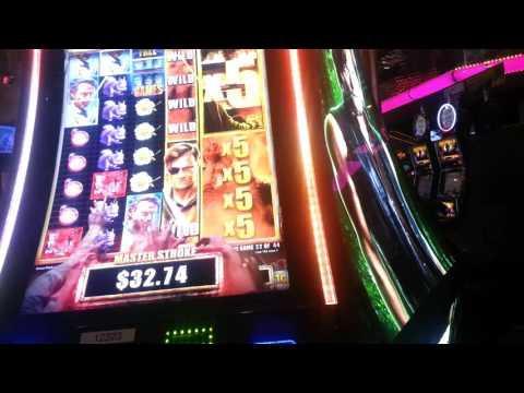 Walking Dead 2 Slot Machine Playing At Fandango Casino Carson City NV.