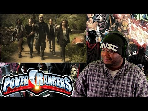 "Power Rangers ""The Order Movie"" trailer REACTION"