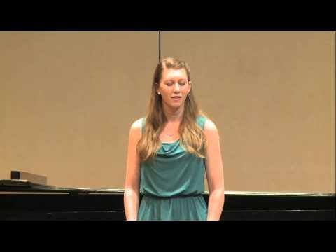 One of Brenda Belohoubek's performances.