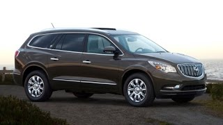 2015 Buick Enclave Start Up and Review 3.6 L V6
