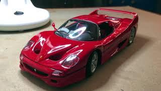 Review - 1:18 Scale Maisto Ferrari F50