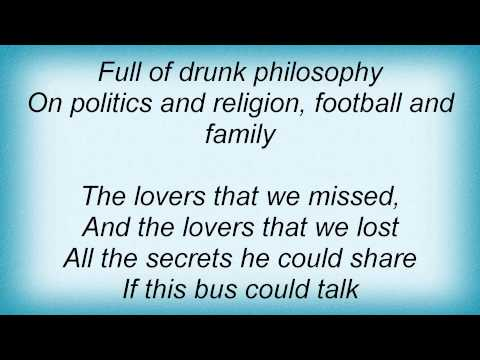 Kenny Chesney - If This Bus Could Talk Lyrics