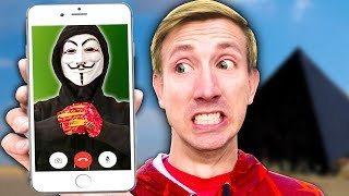 I TRICK HACKER LEADER in Real Life Experiment Challenge with Funny Prank Like a Spy Ninja Superhero