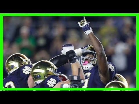 Breaking News | Here come the notre dame fighting irish, there goes the pac-12 and more college foo