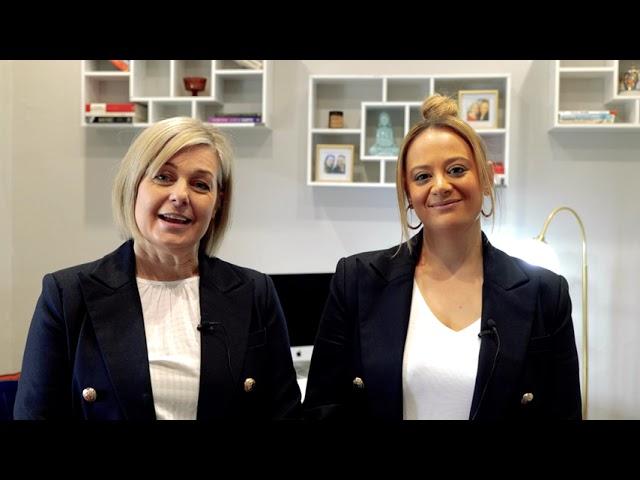 Meet our Directors; Tania Savelli & Katrina Ryan