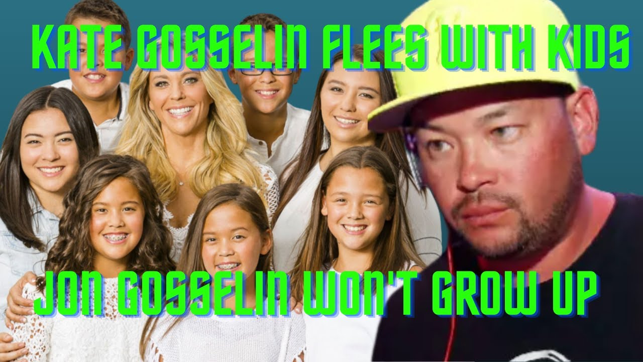 Jon Gosselin Battles a Midlife Crisis After Kate Gosselin Flees with Kids to North Carolina