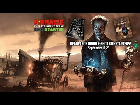 Deadlands Double Shot Kickstarters