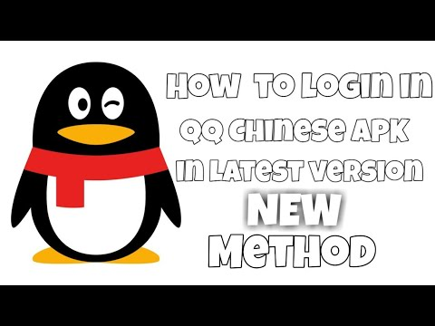 How To Login In Or Sign Up In QQ Chinese APK With Easy Steps (check Description) || By #ligxt ||