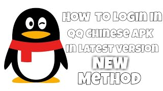 Gambar cover How to login in or sign up in QQ Chinese APK with easy steps (check description) || by #ligxt ||