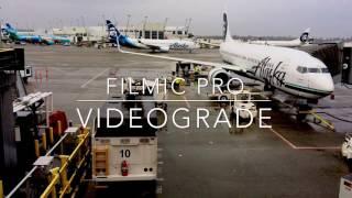 VIDEOGRADE app IPhone 4k Color Grading Filmic Pro Videograde app