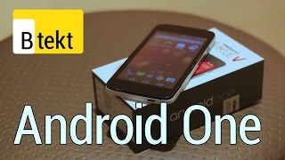 Karbonn Sparkle V hands-on - first UK Android One phone!