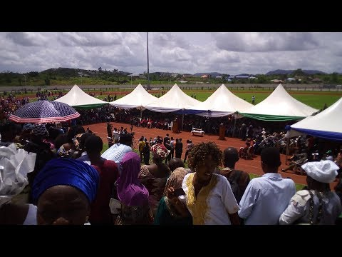 Njala University Conferment of Degrees and Award of Diplomas and Certificates