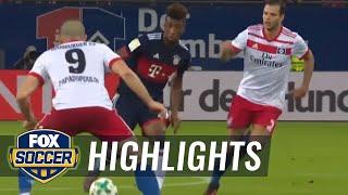 Hamburg SV vs. Bayern Munich | 2017-18 Bundesliga Highlights