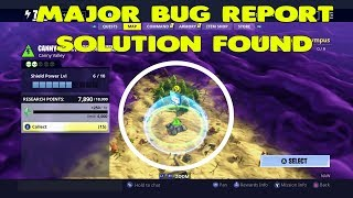 Fortnite Save The World Bug - Storm Shield Defense Bug + Solution