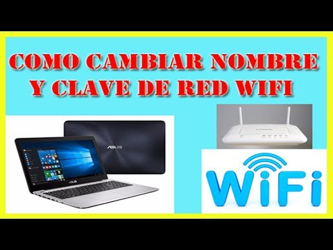 Como Cambiar Clave y Nombre de wifi 2018 - Modem Router Movistar