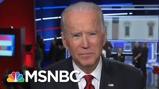 Joe Biden: I'm Going To Beat Trump 'Like A Drum,' Can't Wait To Debate Him  | MSNBC