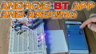 Create a Bluetooth App and control the Arduino