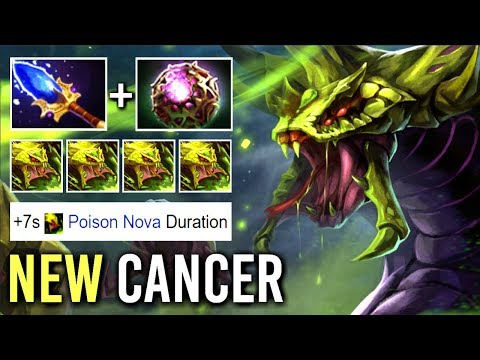 NEW MOST AIDS/HIV Build Scepter OC Venomancer Non-Stop Poison Nova Epic Team Wipe Combo WTF Dota 2