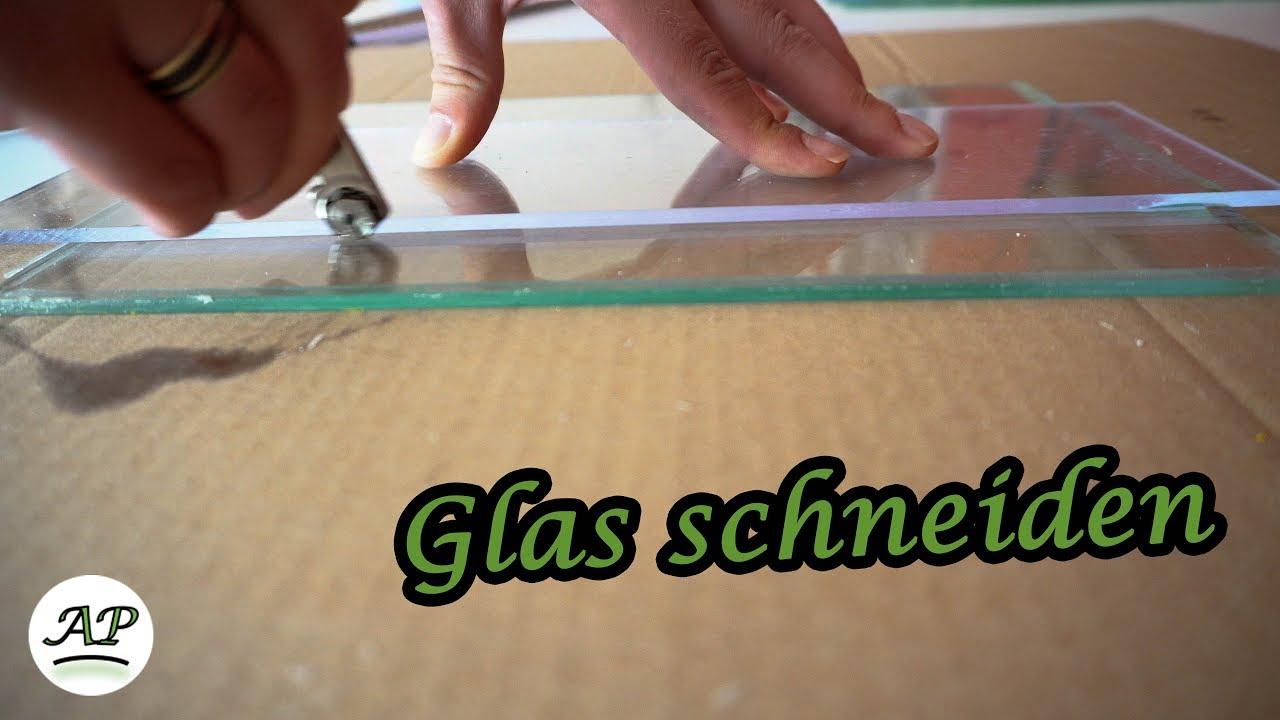glas schneiden - aquarienportal - youtube