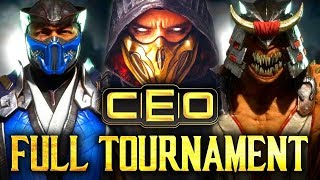 Mortal Kombat 11: CEO2019 - Full Tournament! [TOP8 + Finals] (ft. SonicFox, NinjaKilla, Dragon etc)