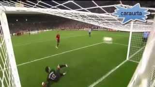 Tanda de penaltis decisiva España - Portugal Eurocopa 2012 (Audio Onda Cero)