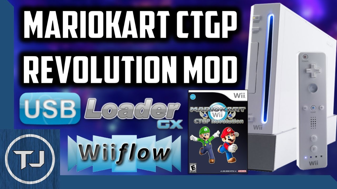 How To Install Mario Kart Wii CTGP Mod Without Disk