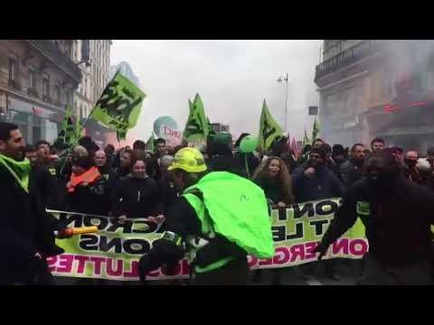 Manifestation  du 22 mars 2018 à Paris