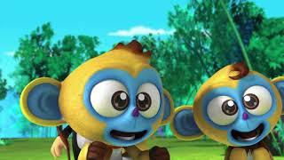 Кротик и Панда - Ловушка - серия 4 - развивающий мультфильм для детей