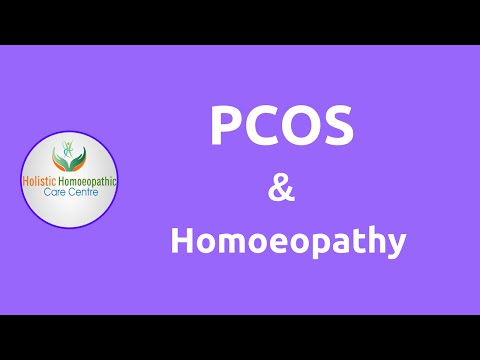 Homeopathic treatment for PCOS