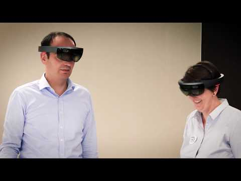 HCS Pharma use augmented reality to validate its industrial platform