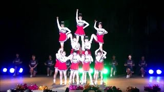 県立広島商業高校応援部@Chushikoku Cheerleader 2017 Spring