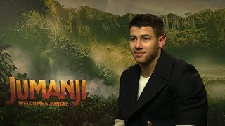 Jumanji Welcome to the Jungle interview - hmv.com talks to Nick Jonas