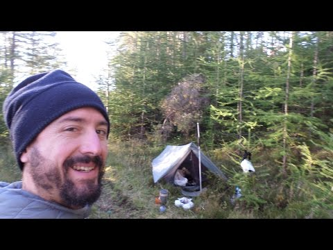 Andrew Tailor Light Weight Backpacking Scotland Intro