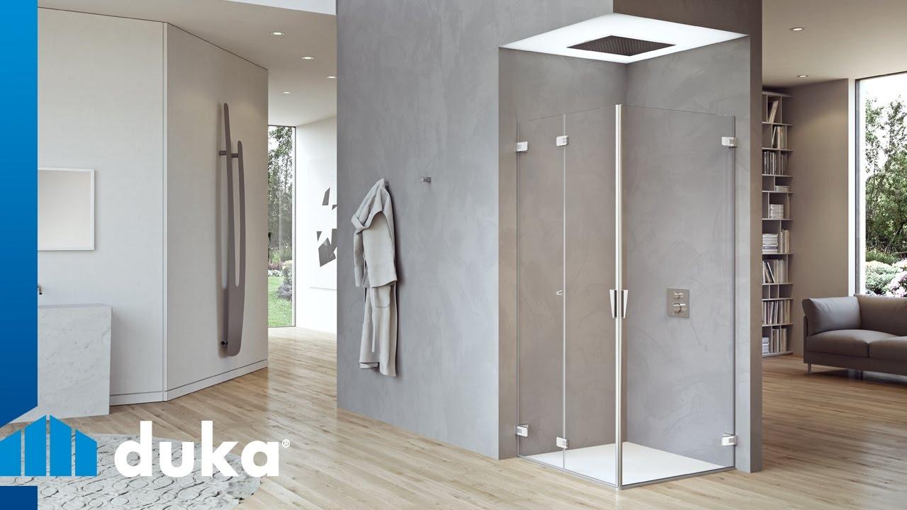 Pura l innovazione nella cabina doccia duka youtube - Cabina doccia leroy merlin prezzi ...