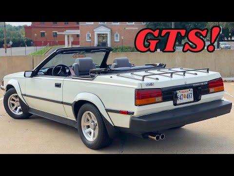 1985 Toyota Celica GT-S  - The Japanese Pony Car