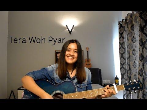 tera-woh-pyar-(nawazishein-karam)---asim-azhar-and-momina-mustehsan-(cover-by-vallari-singh)