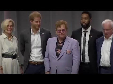 The Duke Of Sussex Prince Harry ALL MOMENTS 2018 International AIDS Confidence Mp3