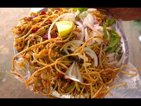 Indian Street Food Chicken Noodles Recipe Hyderabad