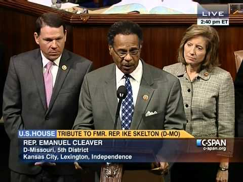 Congressman Cleaver Honors Former Rep. Ike Skelton With a Moment of Silence