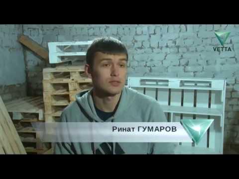 Мебель из поддонов (паллет) в Перми