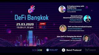 Deconstructing Decentralized Exchanges - DeFi Bangkok Online Conference