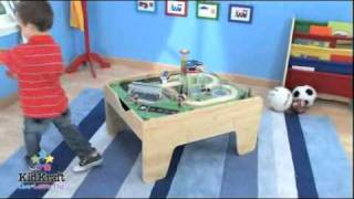 2-in-1 Activity Table In Natural - Item 17576